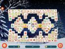 Скриншот №3 для игры Рождественский маджонг 2